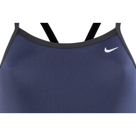 Nike Swim Poly Core Solid Racerback One Piece Mujer, midnight navy